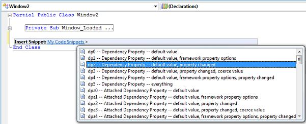 Code Snippets « Dr  WPF