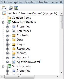 A WPF Project Needs Structure « Dr  WPF